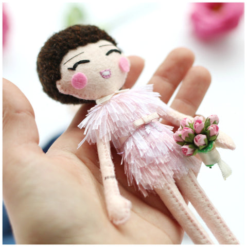 wedding art doll, mini me doll, made according to the picture