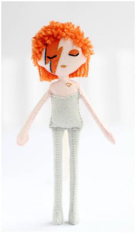 Grab your little David Bowie before it's gone! Click on the image to be teleported to the store or click here: www.whisperofthepipit.com