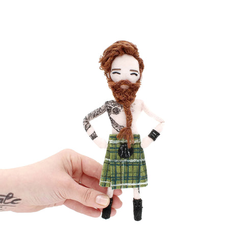 Tattoo Doll - Angus