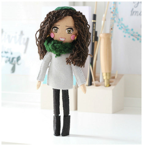Selfie Doll with Open Eyes
