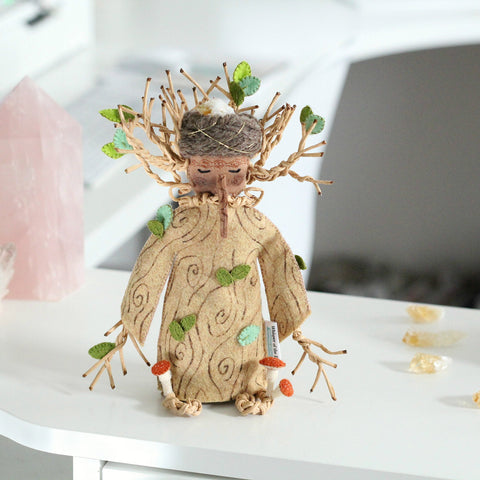 Mr. Tree with Citrine Crystal