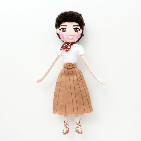 Roman Holiday doll, Audrey Hepburn doll, art doll,