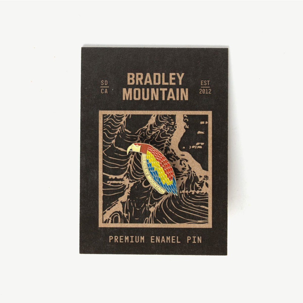Load image into Gallery viewer, Parrot Enamel Pin Bradley Mountain
