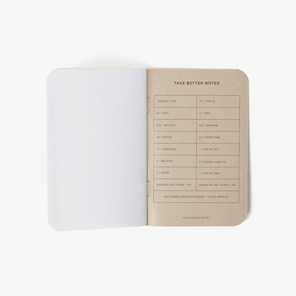 Lined Journal - Black