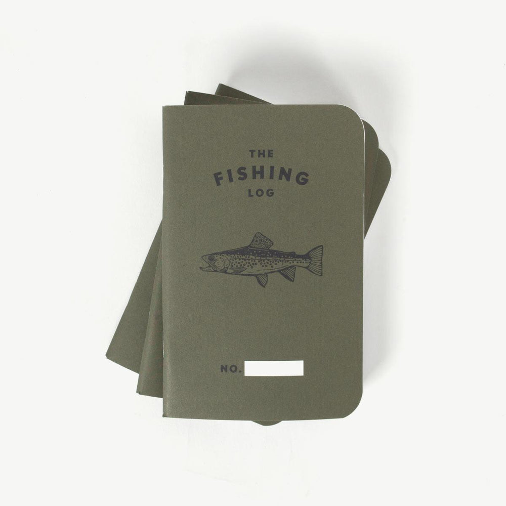 Fishing Log - Olive