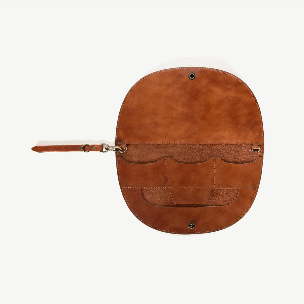 Gaviota Clutch - Brown
