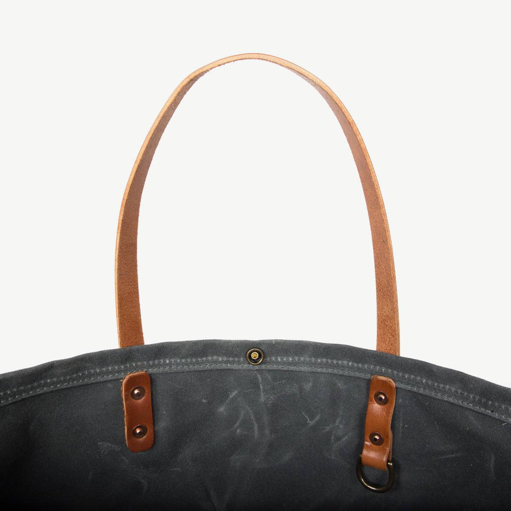 Compass Tote - Charcoal