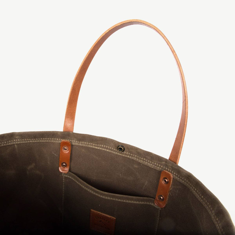 Compass Tote - Field Tan
