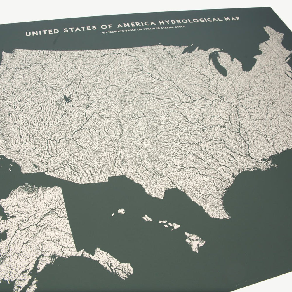 USA Hydrologic Map
