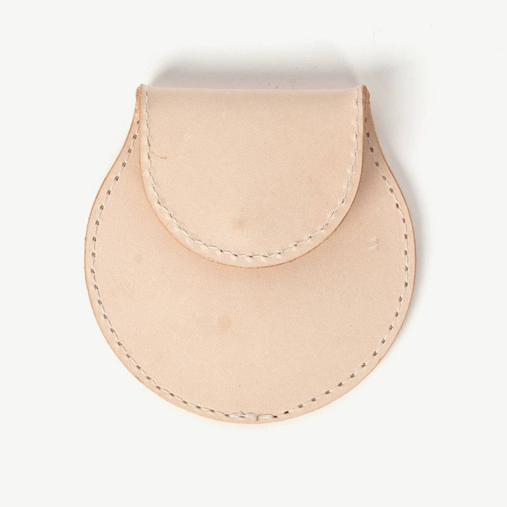Travel Coin Pouch - Natural