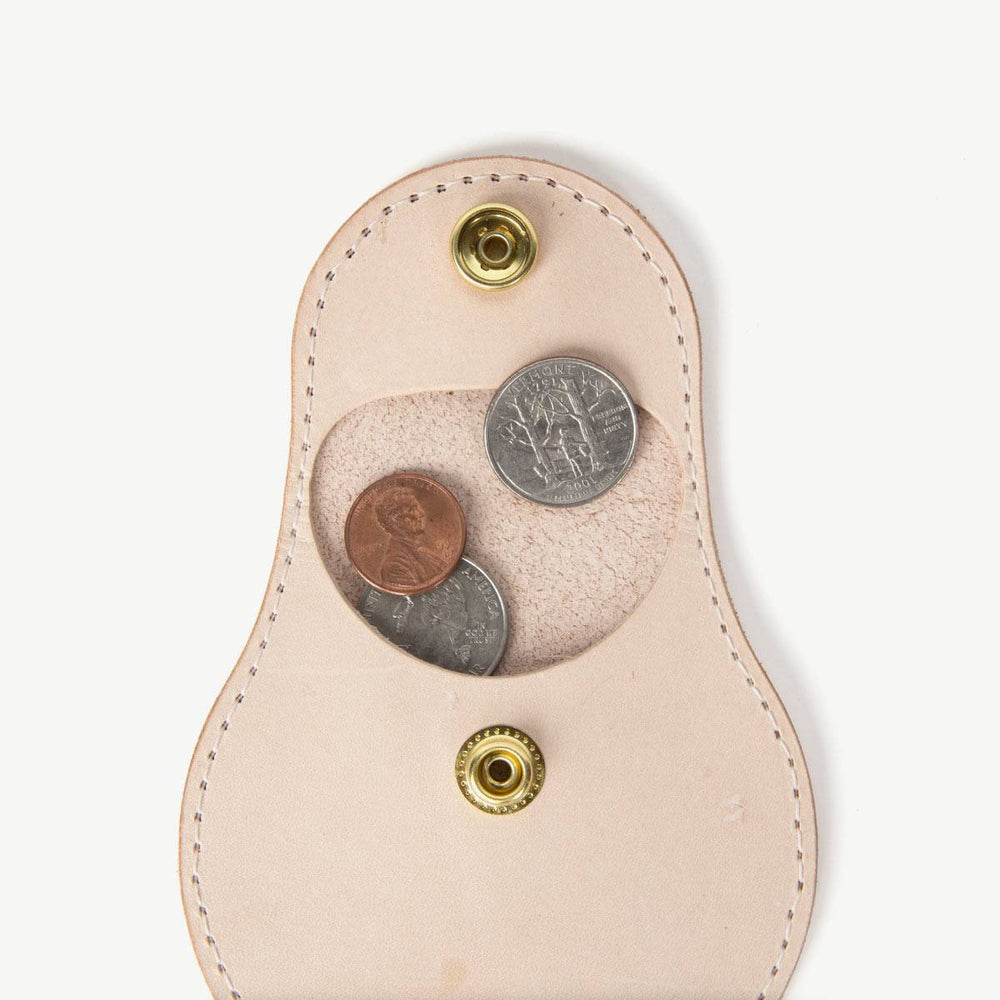 Travel Coin Pouch - Natural Bradley Mountain