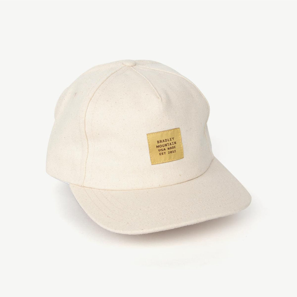 Heritage Camper Hat - Natural Bradley Mountain