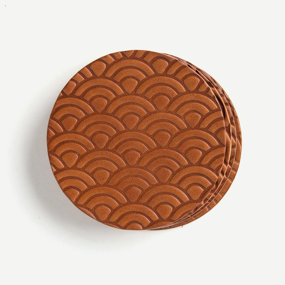 Seigaiha Coaster Set