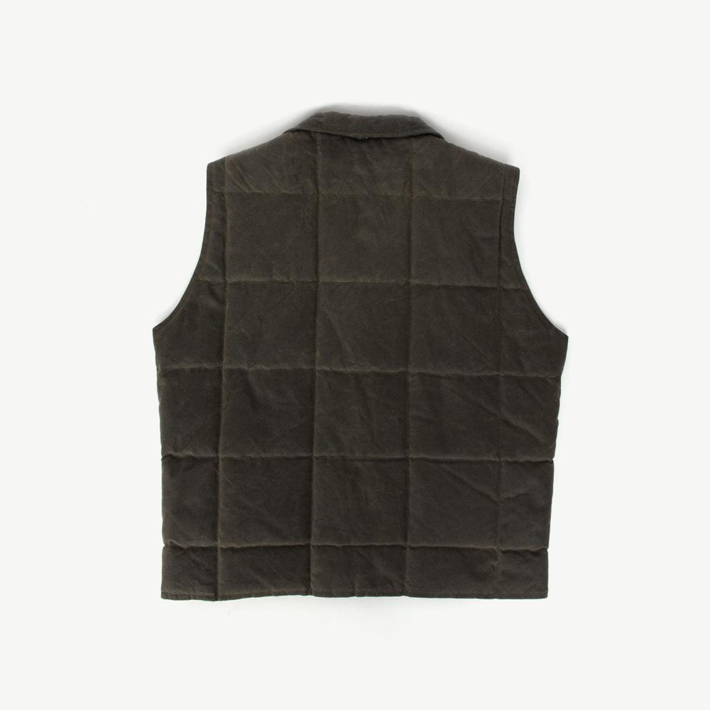 The Navigator Vest - Waxed Oak