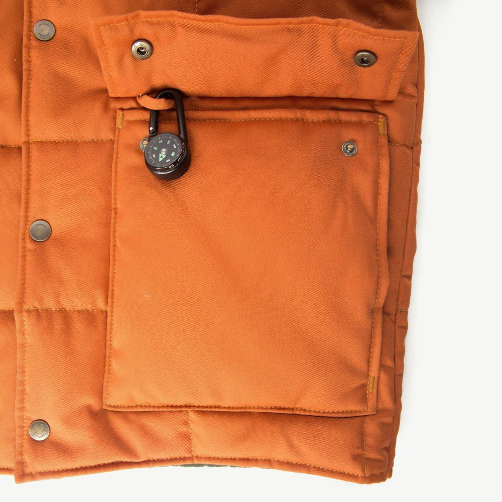 Navigator Jacket - Campfire Orange