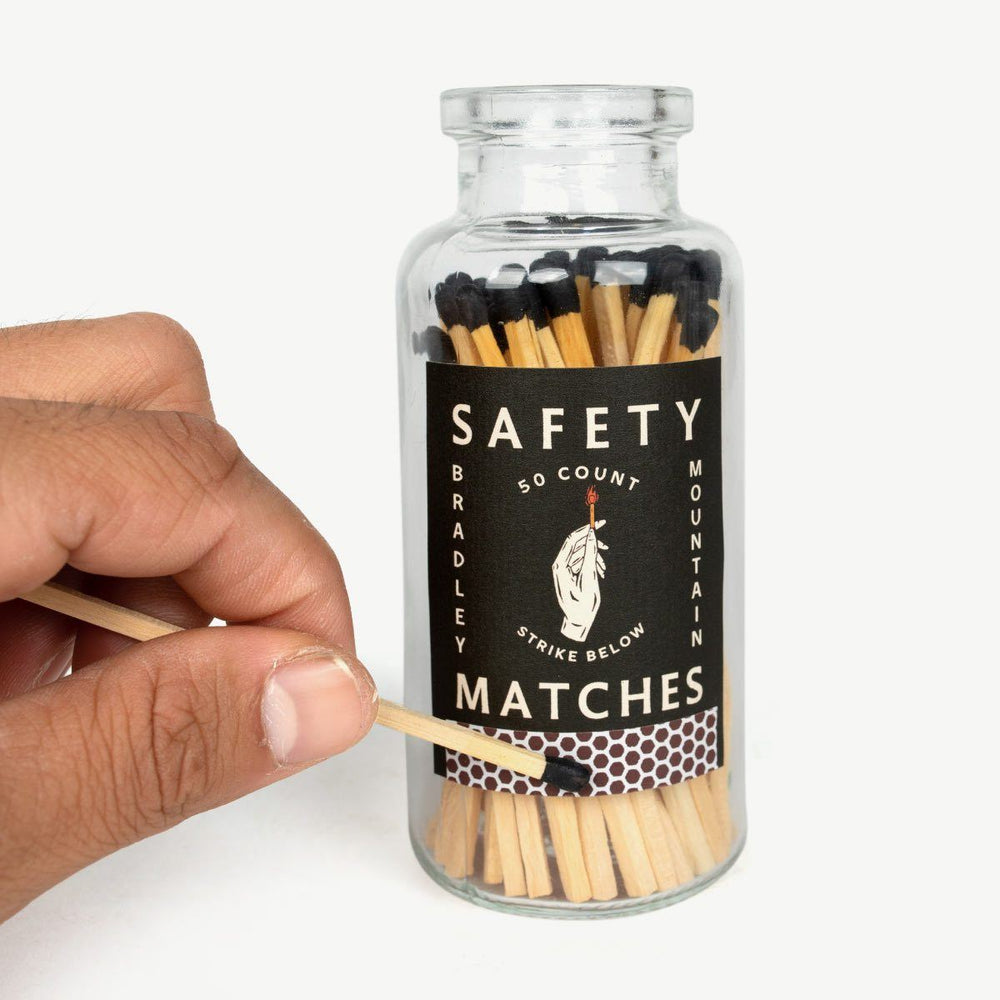 Safety Matches Bottle Bradley Mountain