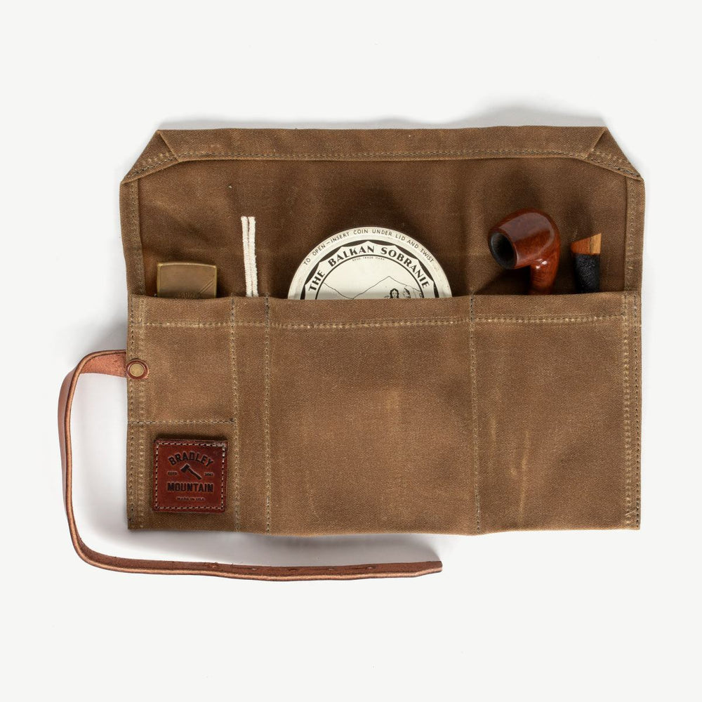 Pipe Roll - Brush Brown Accessories Bradley Mountain