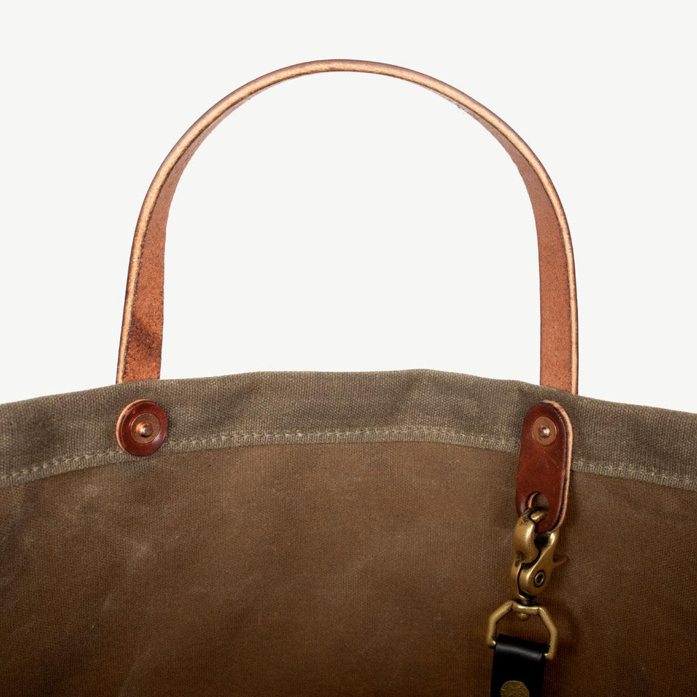 Coal Tote - Field Tan