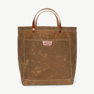 Load image into Gallery viewer, Coal Tote - Brush Brown Bradley Mountain