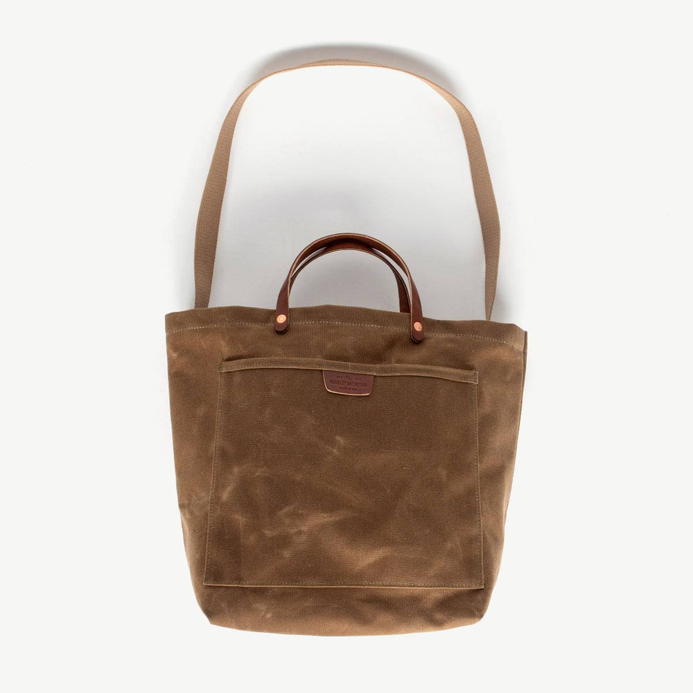 Coal Tote - Brush Brown