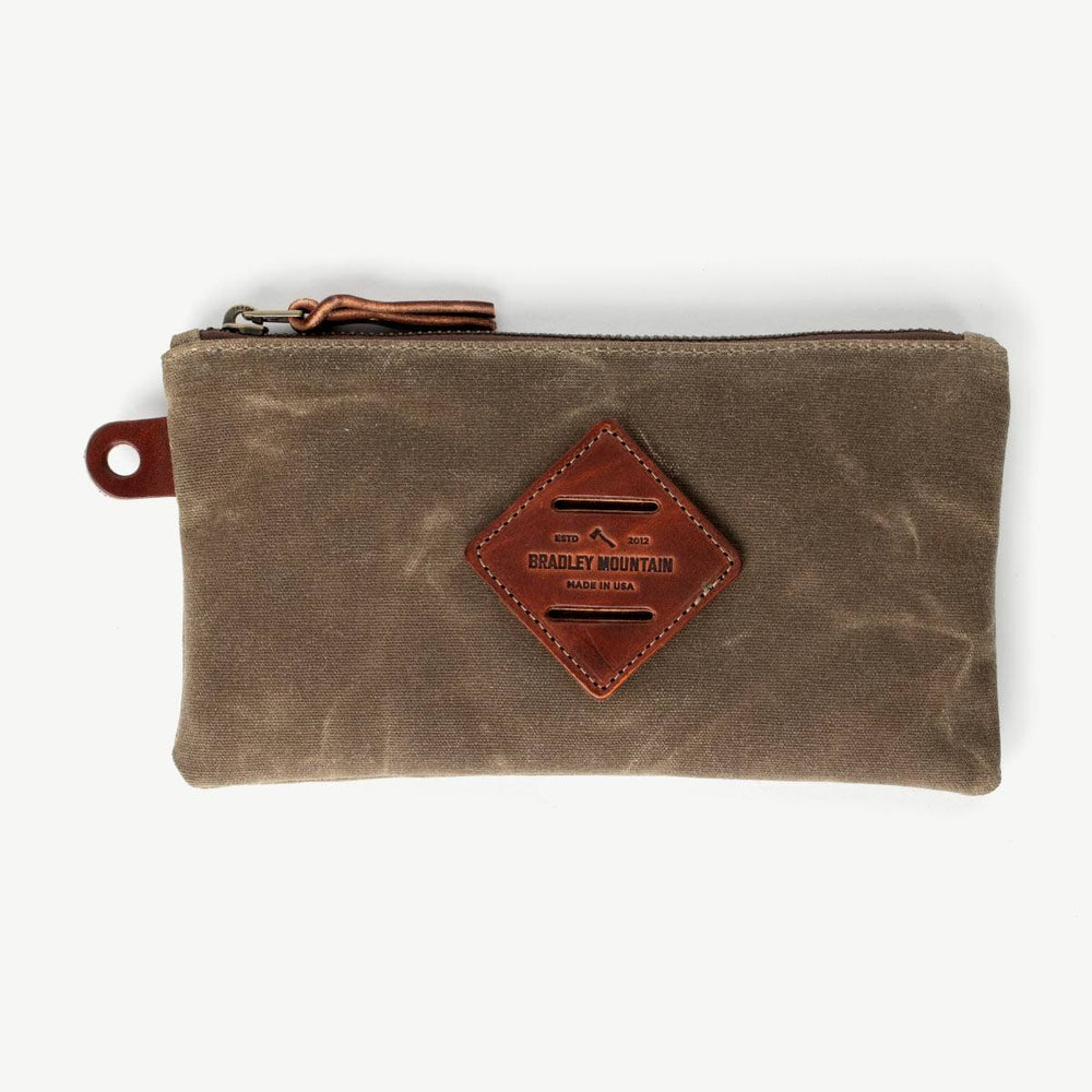 Zip Pouch - Field Tan