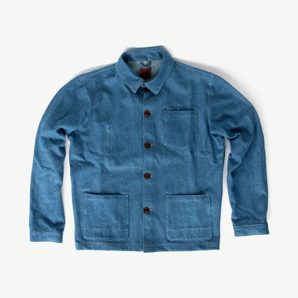 Edison Chore Coat - Scoured Denim