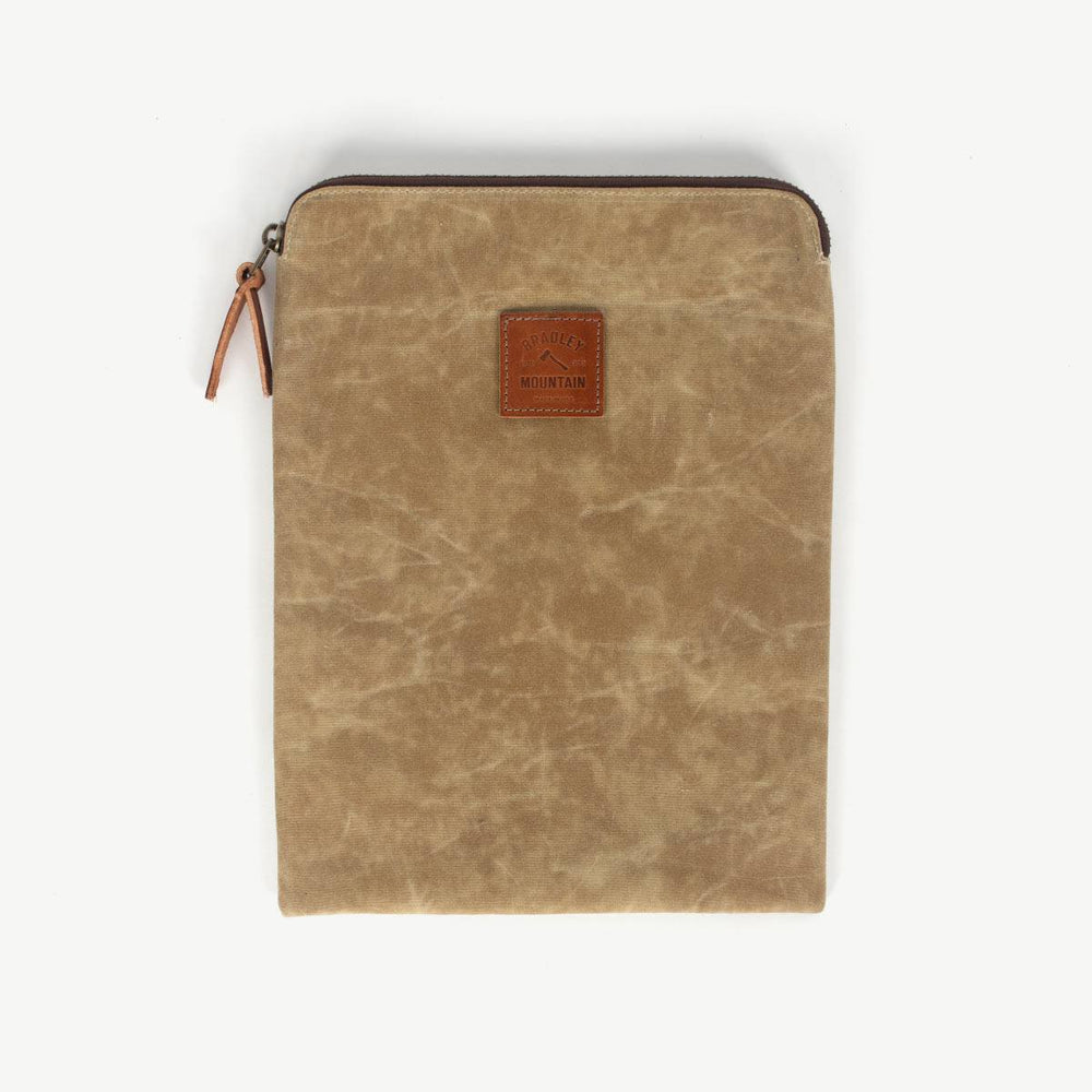 Laptop Sleeve - Field Tan