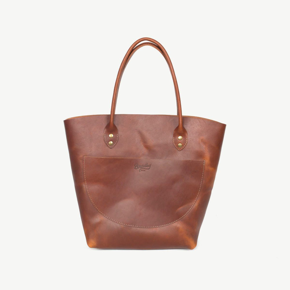 Goldfinch Tote - Brown