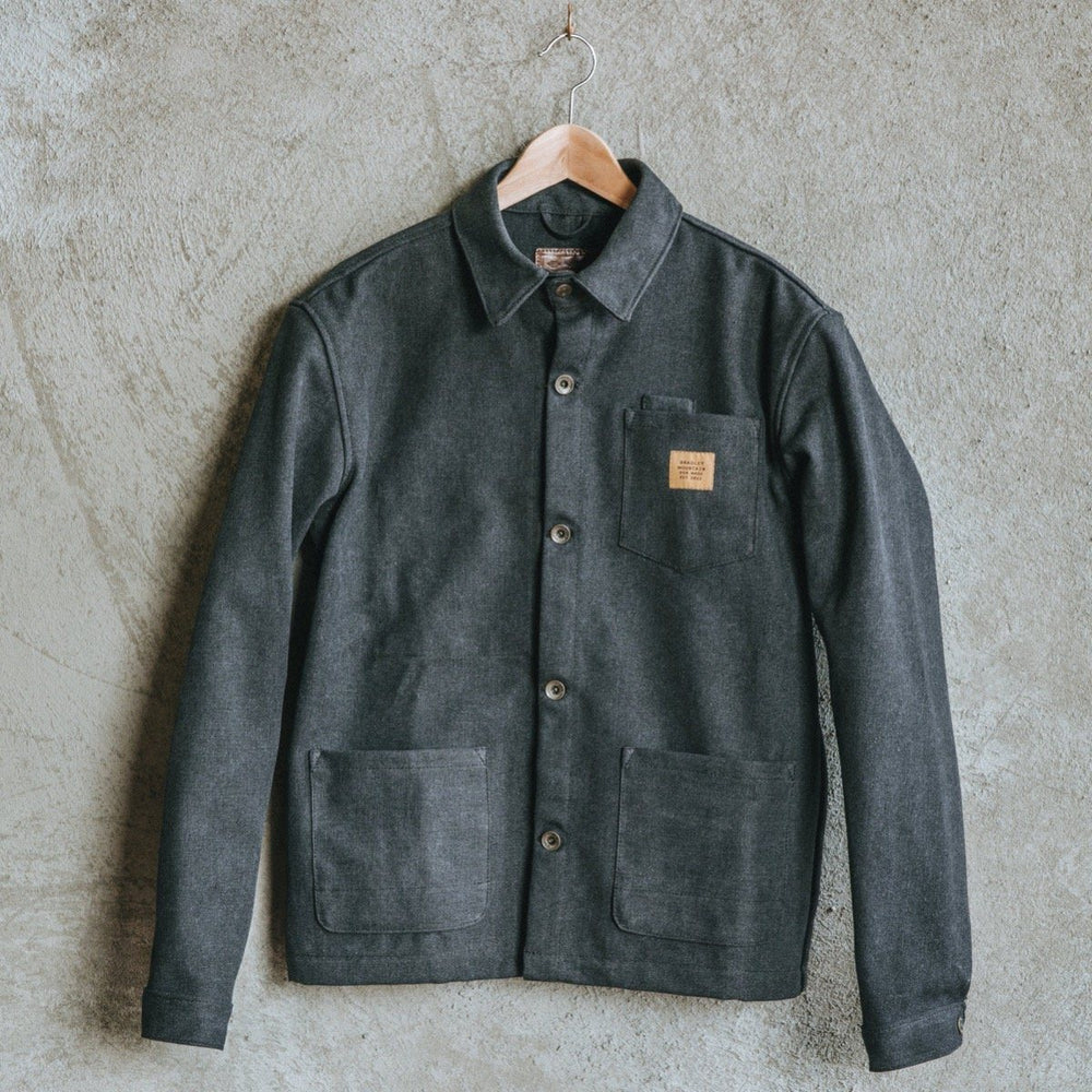 Edison Chore Coat - Stone Washed Black