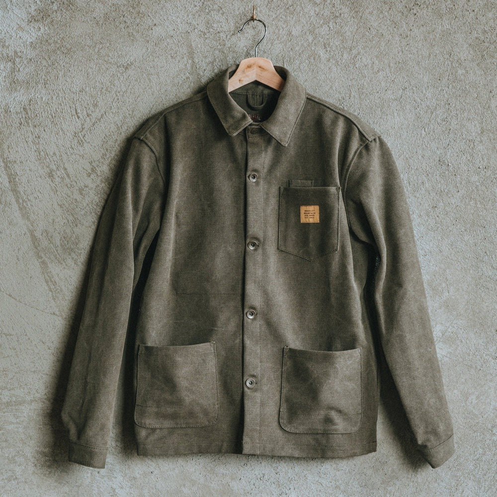 Edison Chore Coat - Stone Washed Olive Bradley Mountain