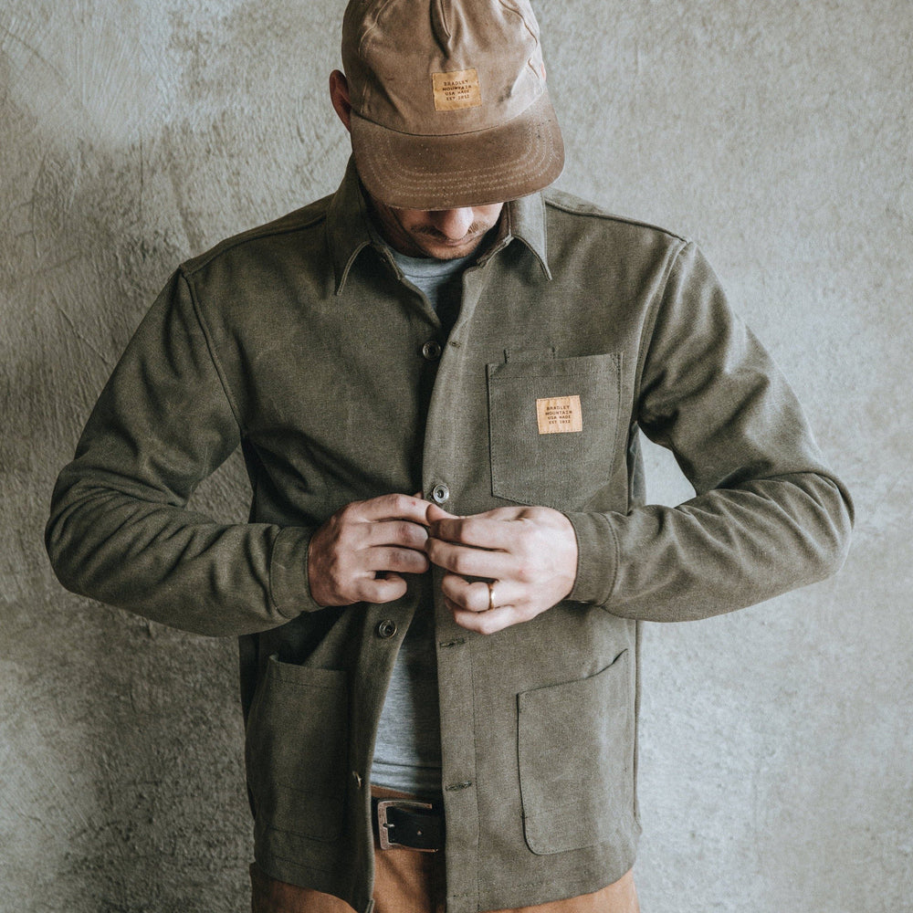 Edison Chore Coat - Stone Washed Olive