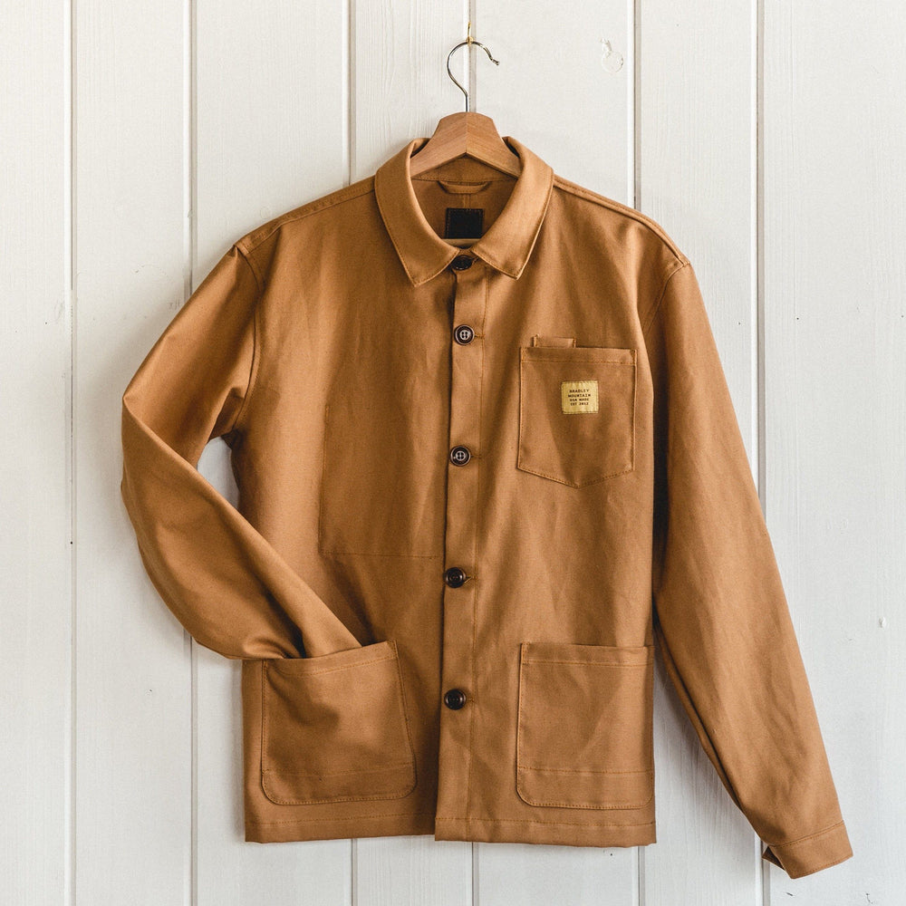Edison Chore Coat - Lightweight Harvest Bradley Mountain