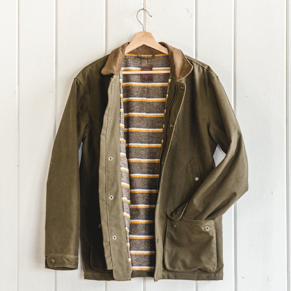 Field Jacket - Waxed Olive - Preorder
