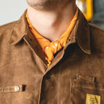 Wrangler Bandana - Japanese Selvedge - Mustard Accessories Bradley Mountain