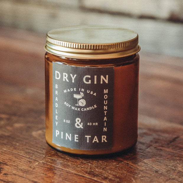Dry Gin & Pine Tar Candle 1