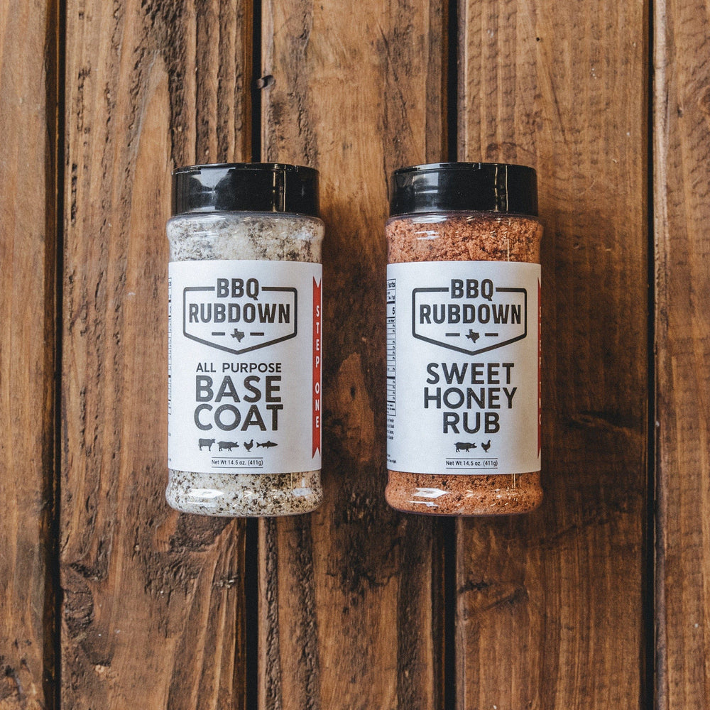 BBQ Rub Down 2-Step Seasoning