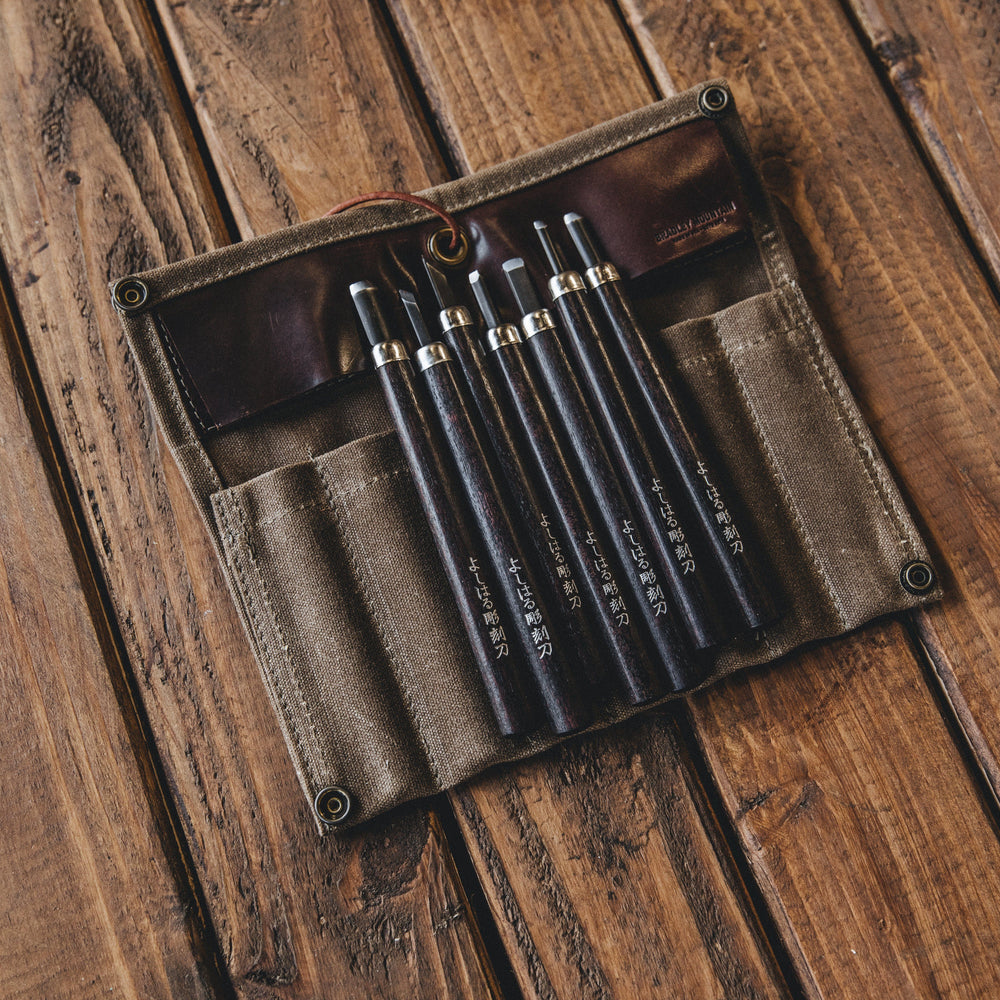 Japanese Wood Carving Set Bradley Mountain