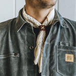 Dot Bandana - Japanese Selvedge - White