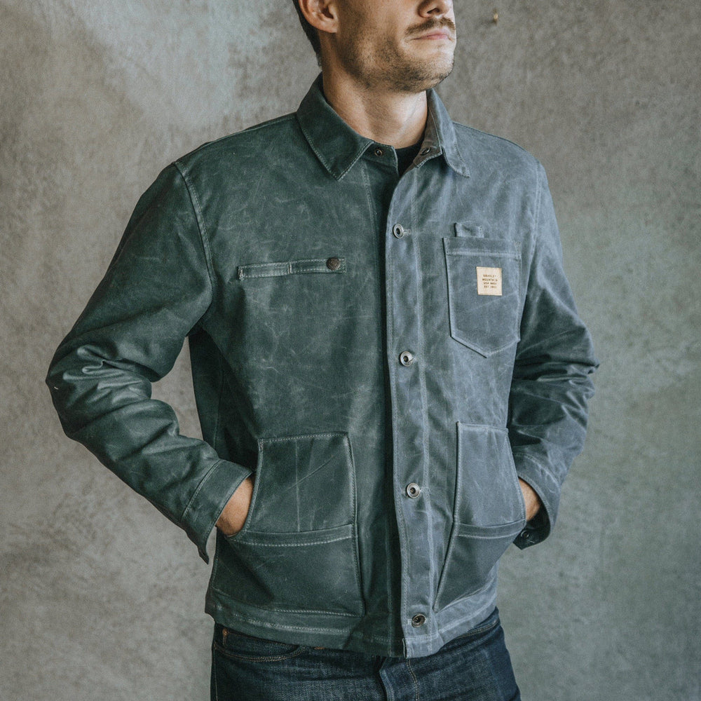 Cabin Jacket - Charcoal Bradley Mountain