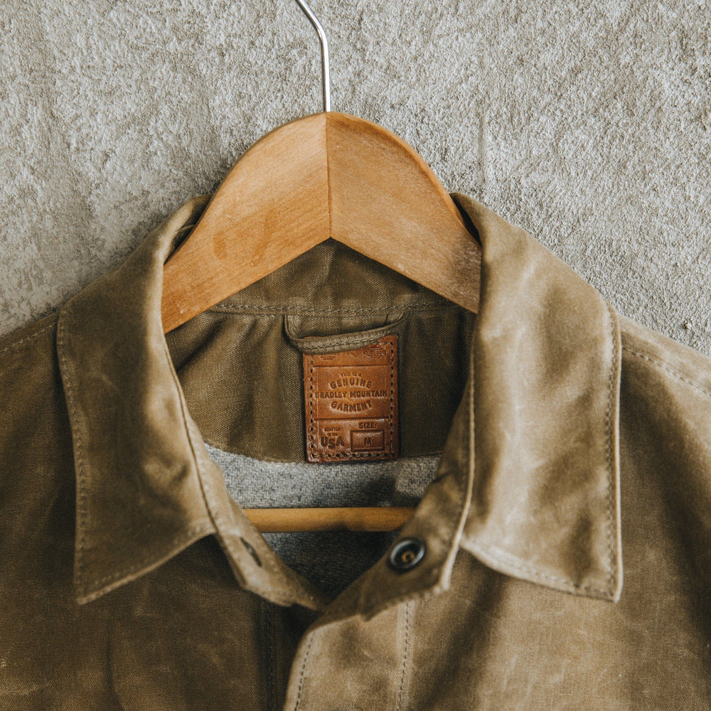 Cabin Jacket - Olive Bradley Mountain