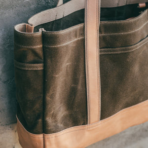 Lander Tote - Field Tan Bradley Mountain