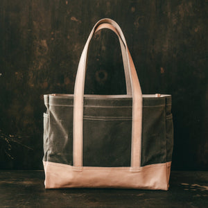 Load image into Gallery viewer, Lander Tote - Field Tan Bradley Mountain