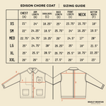 Edison Chore Coat - Washed Black