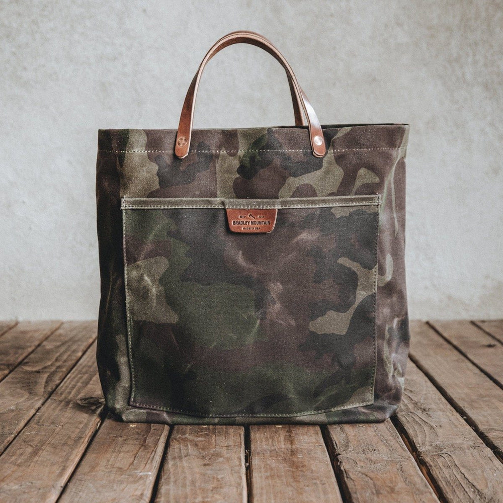 Coal Tote - Waxed Camo Bradley Mountain
