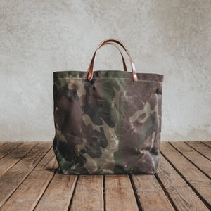 Load image into Gallery viewer, Coal Tote - Waxed Camo Bradley Mountain
