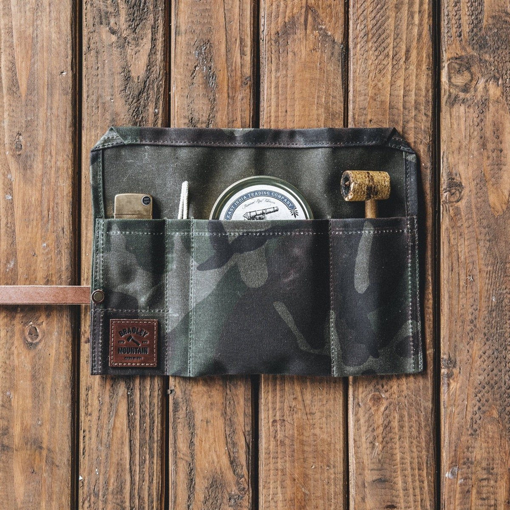 Pipe Roll - Waxed Camo Accessories Bradley Mountain
