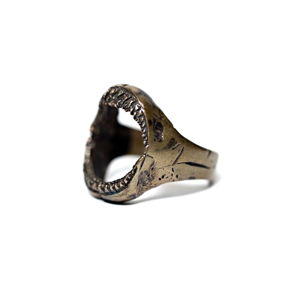 Jaws Bronze Ring