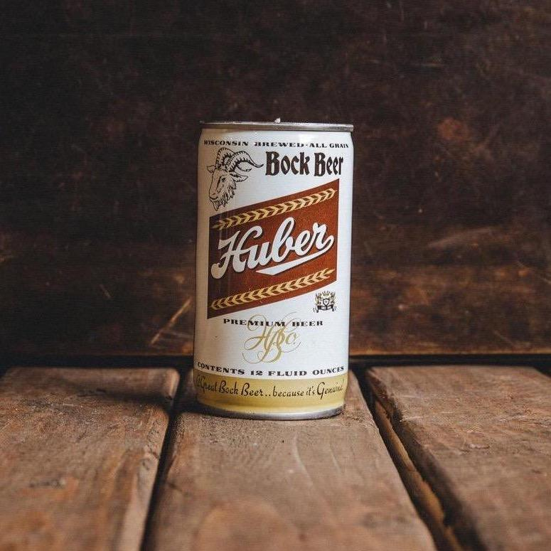 Huber Rock Beer Can Candle - Teakwood Shores
