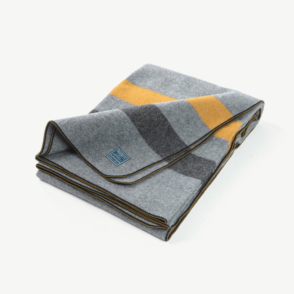 Academy Wool Blanket - Cadet Gray Bradley Mountain