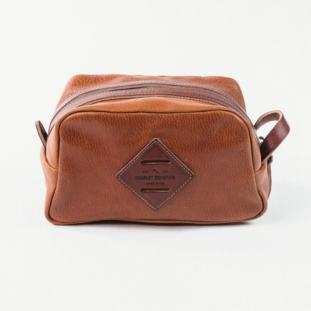 Leather Dopp Kit Accessories Bradley Mountain